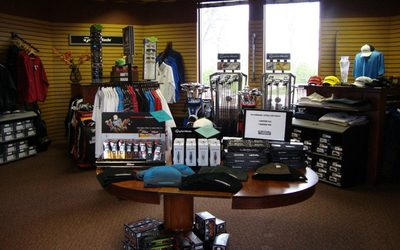 Pro shop at Meadowbrook Country Club