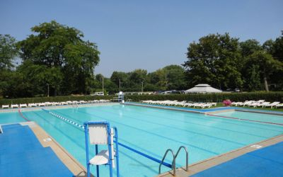 Swimming pool at Meadowbrook Country Club